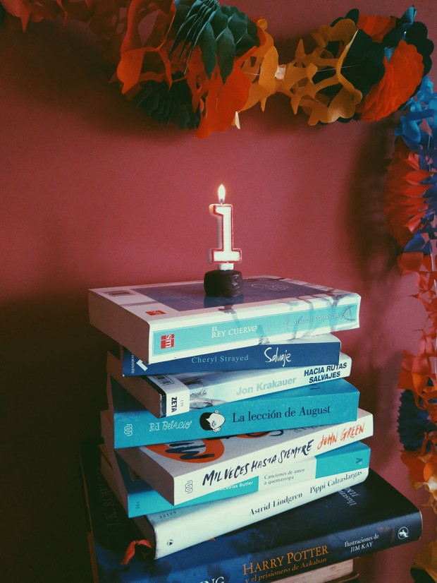 Primer aniversario blog