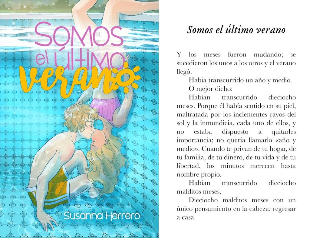 Portada de «Somos el último verano», de Susanna Herrero
